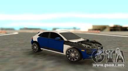 Porsche Macan S para GTA San Andreas