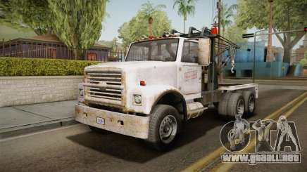 GTA 5 Vapid Towtruck Large Worn IVF para GTA San Andreas