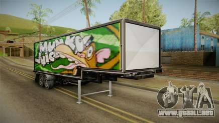 Volvo FH16 660 8x4 Convoy Heavy Weight Trailer 3 para GTA San Andreas