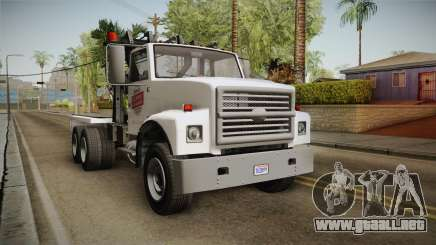 GTA 5 Vapid Towtruck Large Cleaner para GTA San Andreas