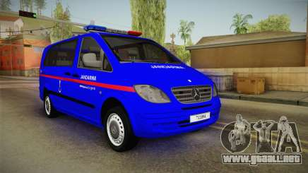 Mercedes-Benz Vito Turkish Gendarmerie para GTA San Andreas