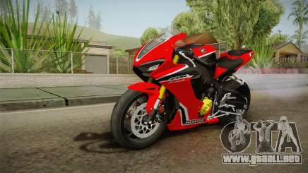 Honda CBR1000RR 2017 para GTA San Andreas