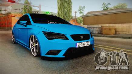 Seat Leon FR Blue para GTA San Andreas