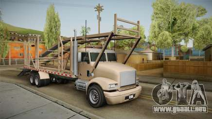 GTA 5 MTL Car Hauler para GTA San Andreas