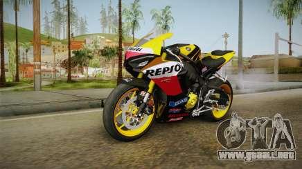 Honda CBR1000RR Repsol Variant 2017 para GTA San Andreas