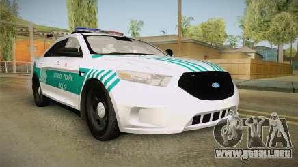 Ford Taurus Turkish Highway Patrol para GTA San Andreas