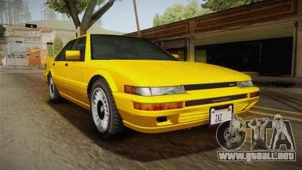 GTA 4 Dinka Hakumai SA Style para GTA San Andreas