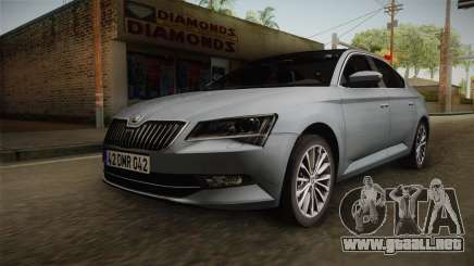 Skoda Superb 2017 para GTA San Andreas