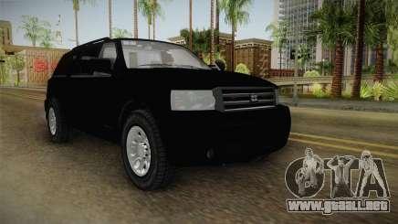 Albany Landstalker 2009 Unmarked para GTA San Andreas