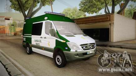 Mercedes-Benz Sprinter GC Trafico Spanish para GTA San Andreas