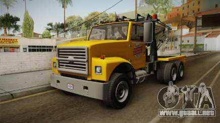 GTA 5 Vapid Towtruck Large Cleaner IVF para GTA San Andreas
