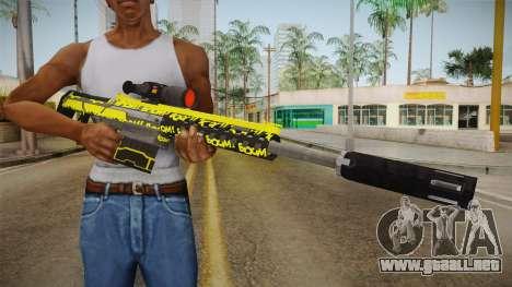 Gunrunning Heavy Sniper Rifle v2 para GTA San Andreas