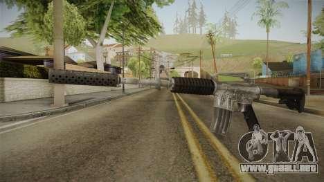 CS:GO - M4A1-S Basilisk para GTA San Andreas