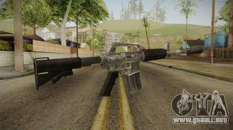 CS:GO - M4A1-S Basilisk para GTA San Andreas segunda pantalla