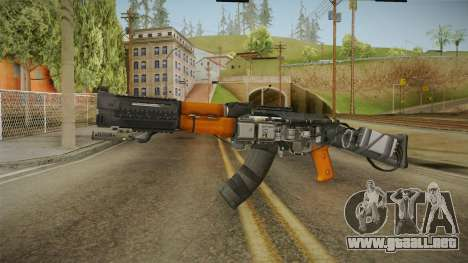 Volk Energy Assault Rifle v2 para GTA San Andreas