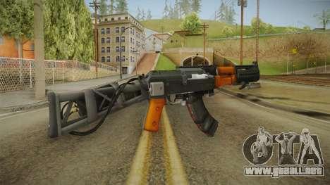 Volk Energy Assault Rifle v2 para GTA San Andreas segunda pantalla