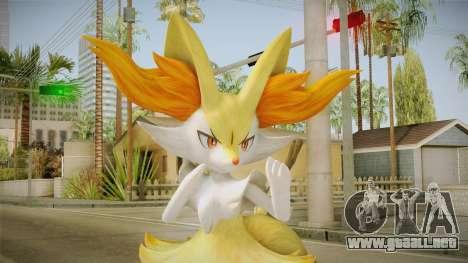 Braixen - Pokken Tournament (Pokemon) para GTA San Andreas