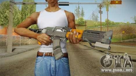 Volk Energy Assault Rifle v2 para GTA San Andreas tercera pantalla
