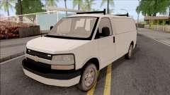 Chevrolet Express Undercover Surveillance Van para GTA San Andreas