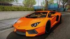 Lamborghini Aventador LP700-4 Stock para GTA San Andreas