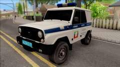 UAZ Hunter Policía para GTA San Andreas