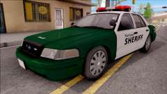 Ford Crown Victoria Flint County Sheriff 2010 para GTA San Andreas