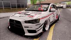 Mitsubishi Lancer Evolution X KC Itasha para GTA San Andreas