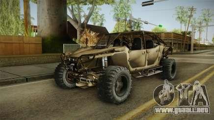 Ghost Recon Wildlands - Unidad AMV Tan para GTA San Andreas