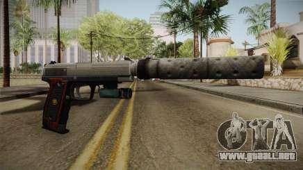 Ada Wong Silenced Pistol para GTA San Andreas