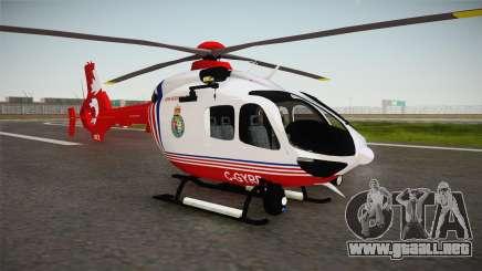 Airbus Eurocopter EC-135 YRP para GTA San Andreas