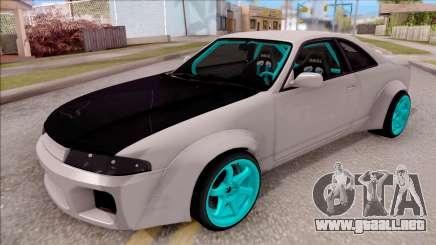 Nissan Skyline R33 Rocket Bunny v2 para GTA San Andreas