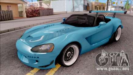 Dodge Viper SRT-10 Widebody 2003 para GTA San Andreas