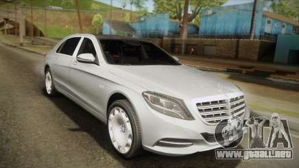 Mercedes-Maybach S600 X222 para GTA San Andreas