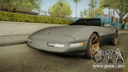 Chevrolet Corvette C4 Cabrio Drift 1996 para GTA San Andreas