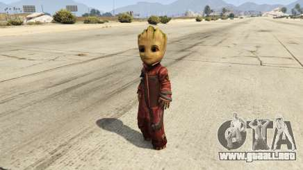 Baby Groot 1.0 para GTA 5