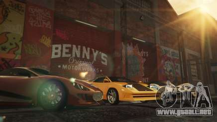New Bennys Original Motor Works in SP 1.5.4 para GTA 5
