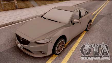 Mazda 6 2016 para GTA San Andreas
