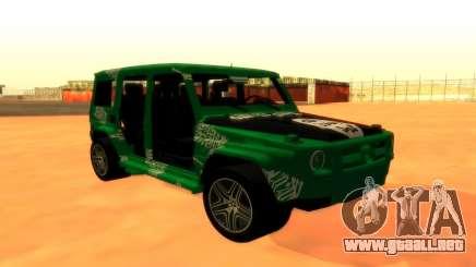 Mersedes-Benz G500 para GTA San Andreas