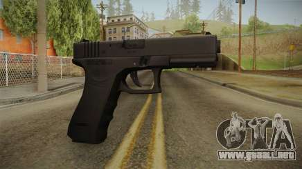 Glock 17 3 Dot Sight Orange para GTA San Andreas