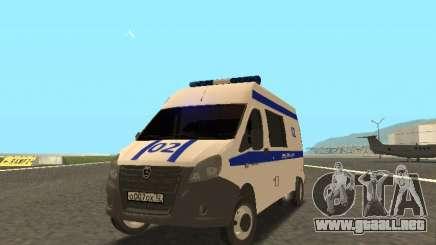La gacela de la Policía PRÓXIMA para GTA San Andreas