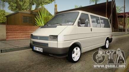 Volkswagen T4 1995 para GTA San Andreas