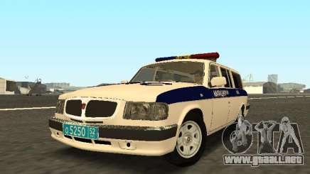 GAZ 310221 DPS de la Policía para GTA San Andreas