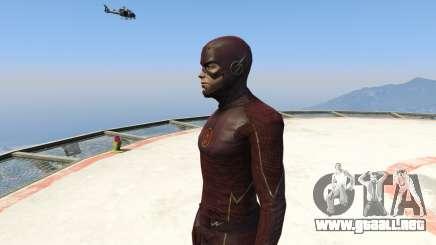 CW The Flash (S1-3) para GTA 5