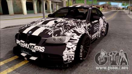 BMW M3 E92 2B of NieR: LB Performance para GTA San Andreas