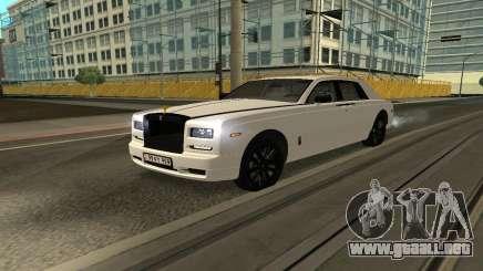 Rolls-Royce Ghost Armenian para GTA San Andreas