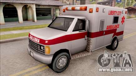 Amblulance From GTA 3 para GTA San Andreas
