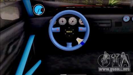 Driftstyle Buffalo para visión interna GTA San Andreas