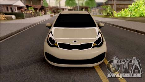 Kia Rio 2012 para visión interna GTA San Andreas