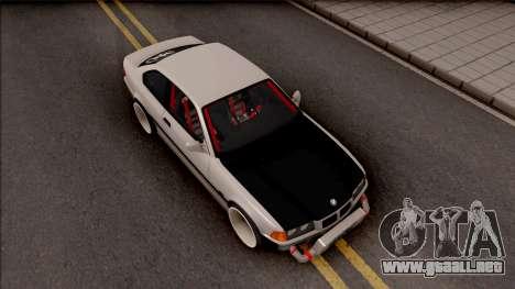 BMW M3 E36 Drift para la visión correcta GTA San Andreas