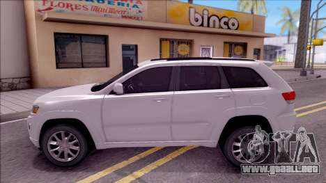 Jeep Grand Cherokee 2017 para GTA San Andreas